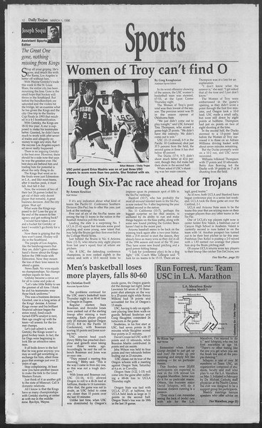 Daily Trojan, Vol. 127, No. 33, March 01, 1996