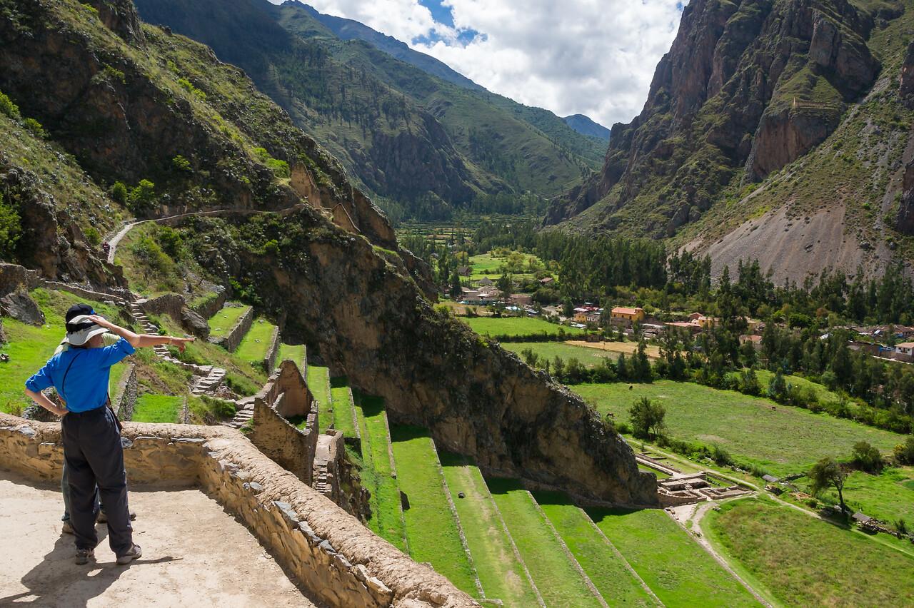 Ollantaytambo, Sacred Valley.