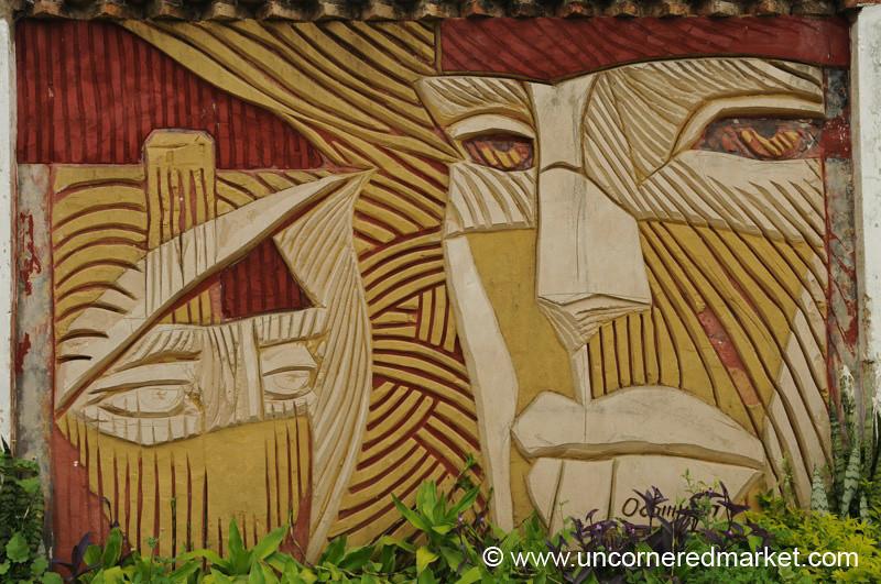 Colored Faces - Asuncion, Paraguay