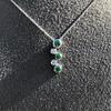 Tiffany & Co. Diamond and Tsavorite Bubble Pendant 16