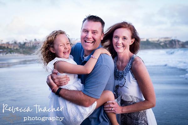 Warren Family . Monarch Beach