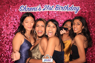 Shreni's 21st
