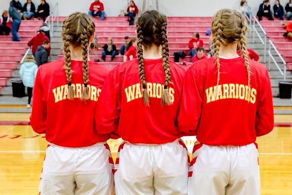 WCHS - Lady Warriors Basketball Senior Night