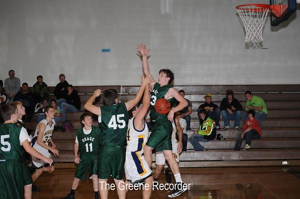 Basketball JV Boys vs Osage