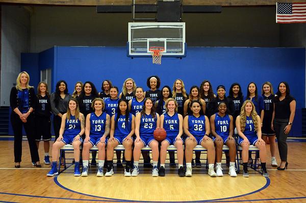 WBasketball Team 2018-19