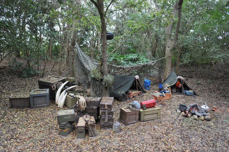 """Poacher Camp"" Kilimanjaro Safaris"