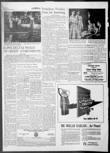 Daily Trojan, Vol. 45, No. 86, March 04, 1954
