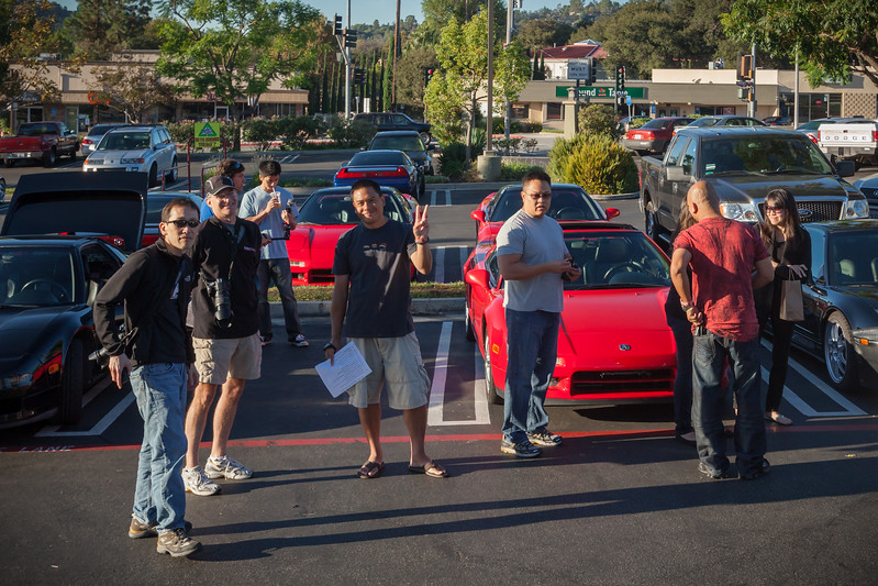 Familiar faces like Glen (Gansan), Troy (tbNSX), Randy (FuryNSX), Ted (Theo1), Mike (Mike2la)...some of these guys I see more often than others, but we always see each other at THIS event