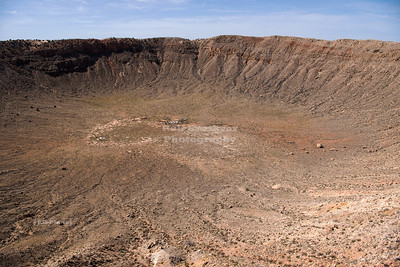 USA, AZ - Meteor Crater