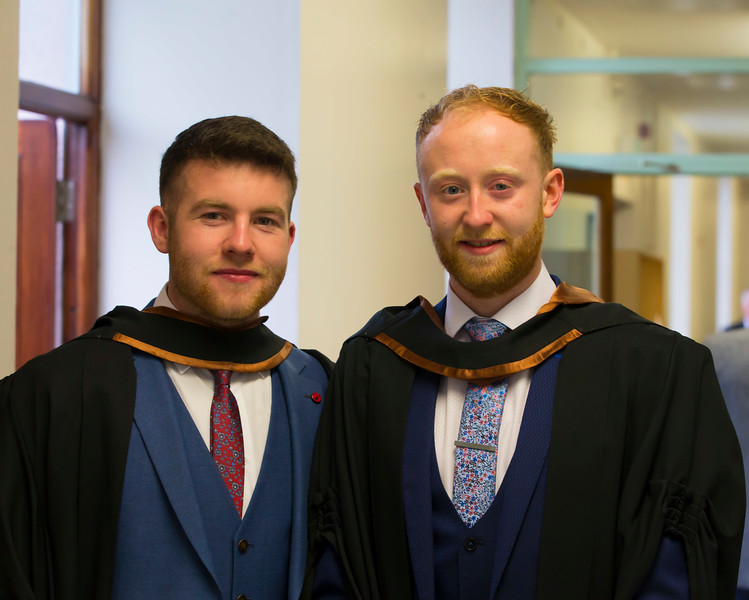 03/11/2017. Waterford Institute of Technology Conferring are Shane Burns Galway and Kieran Cagney Aherlow. Picture: Patrick Browne.