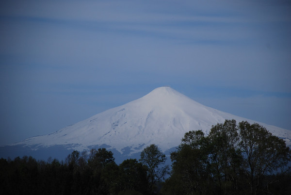Spring skiing  in Patagonia