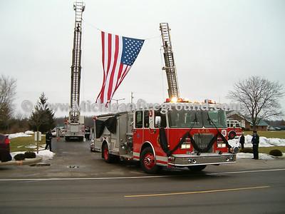 2/8/05 - Lansing Fire Engineer Steven Stucker funeral