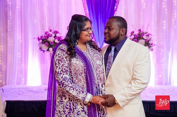 Bhumi & Brandon's Wedding reception