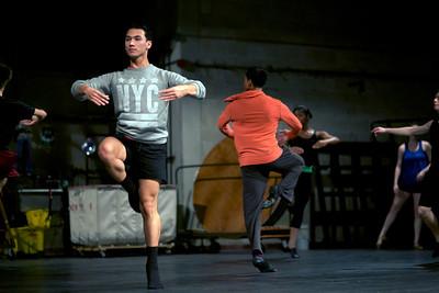 Billy Elliot Dance Master Class