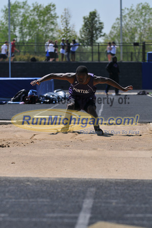 Boy's Long Jump - 2012 T&F Regional at Brandon