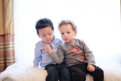 Finn and Seth