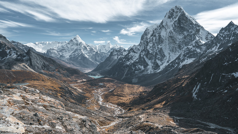 Khumbu Region of the Himalaya, Nepal