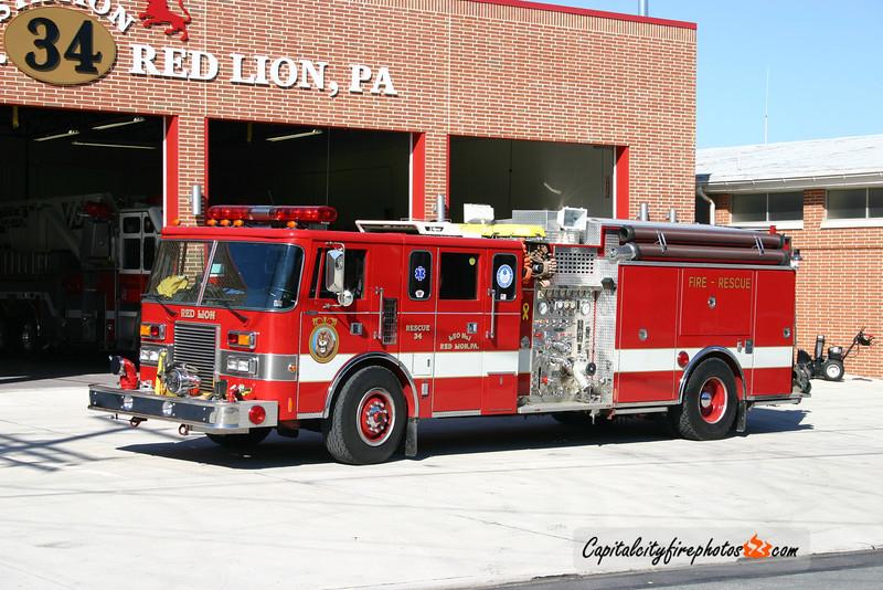 Red Lion X-Rescue 34: 1989 Pierce Lance 1250/1500