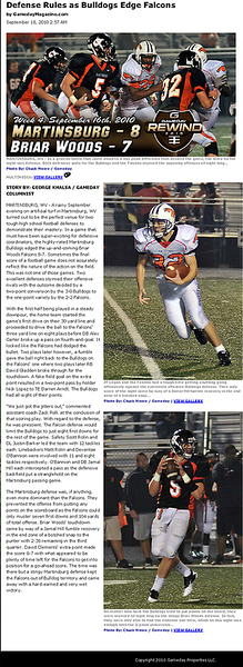 2010-09-18 -- Defense Rules as Bulldogs Edge Falcons.png