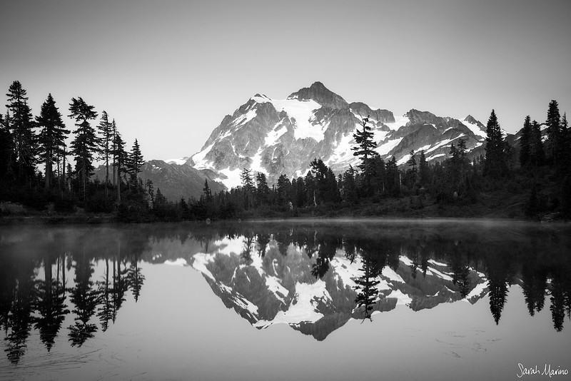 Picture Lake Reflection