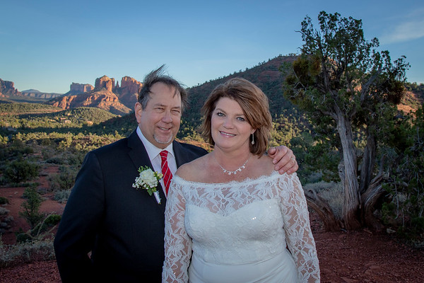 Loretta & Ted's Sedona Wedding