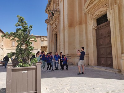 Treasure Hunt with Mtarfa Scout Group