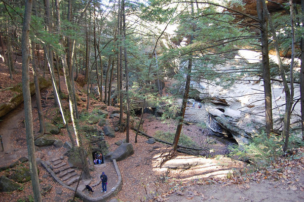 Journal Site 162: Old Mans Cave & Cedar Falls - Oct. 22 & 27, 2010