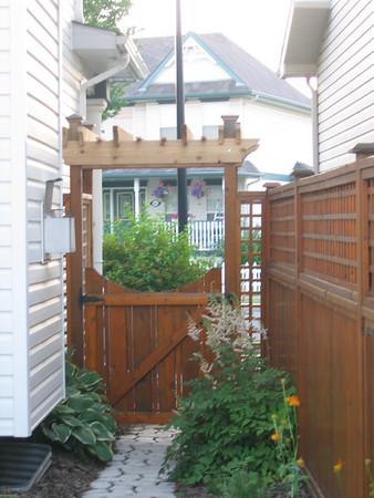 Around the house  summer 2007