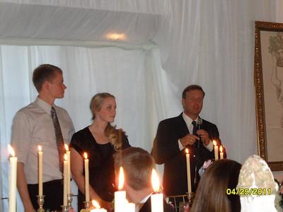 Alex & Angela's Wedding: Dinner @ Santa Barbara (Sorensen home)