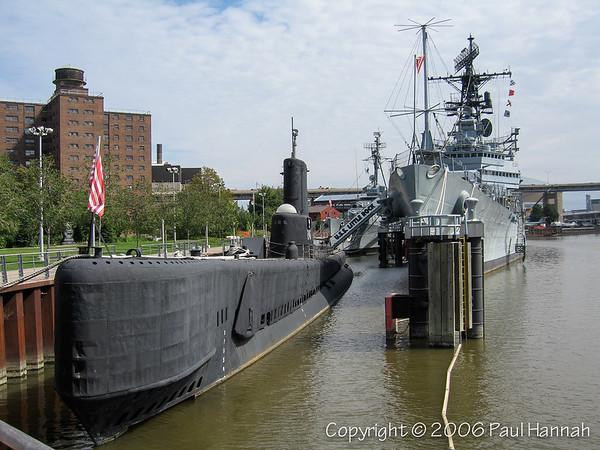USS Croaker (SS-246, Later SSK-246) - Buffalo, NY