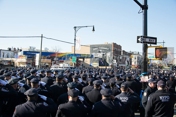 Funeral for NYPD Det. Rafael Ramos