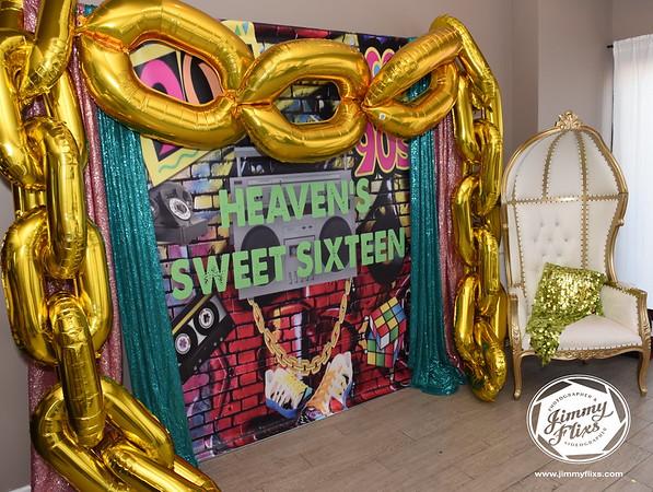 #SWEET16FORHEAVEN