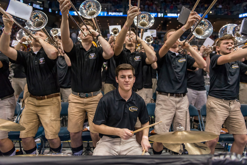 3/16/17 NCAA Tournament, Iowa State, Band