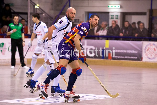 Quarti di finale: B&B Service Forte dei Marmi vs Hockey Trissino