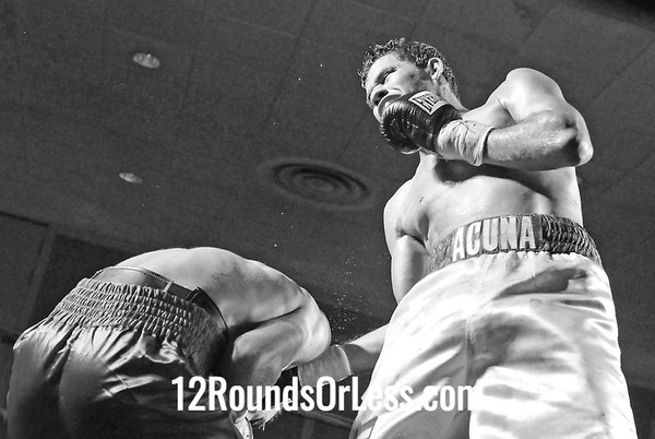 Bout #5  Chris Hazimihalus (8-0), Campbell, OH  vs Wilfredo Acuna (14-9) San Juan, PR  Jr. Welterweights