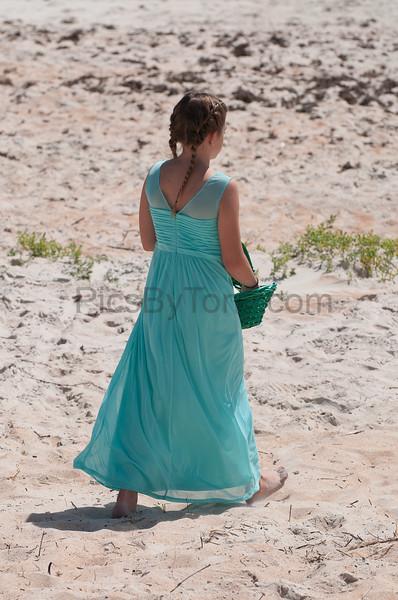 Wedding on Ormond Beach on April 1, 2017