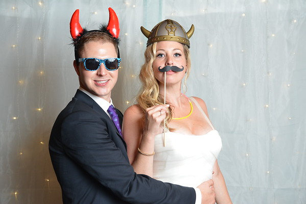 Cait and Nick Wedding Photobooth