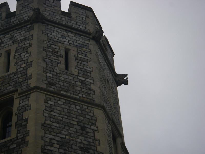 A gargoyle