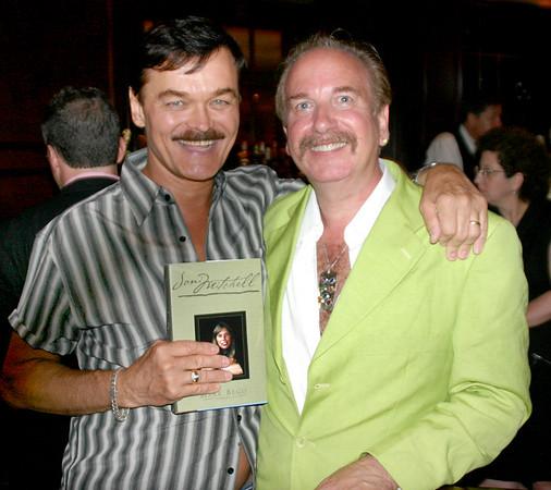 August 1, 2005 Joni Mitchel Book Party, author Mark Bego