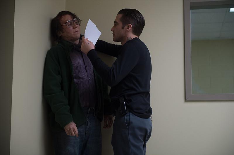 . Paul Dano as Alex Jones and Jake Gyllenhaal as Detective Loki in \'Prisoners.\' (Wilson Webb/Warner Bros. Pictures)