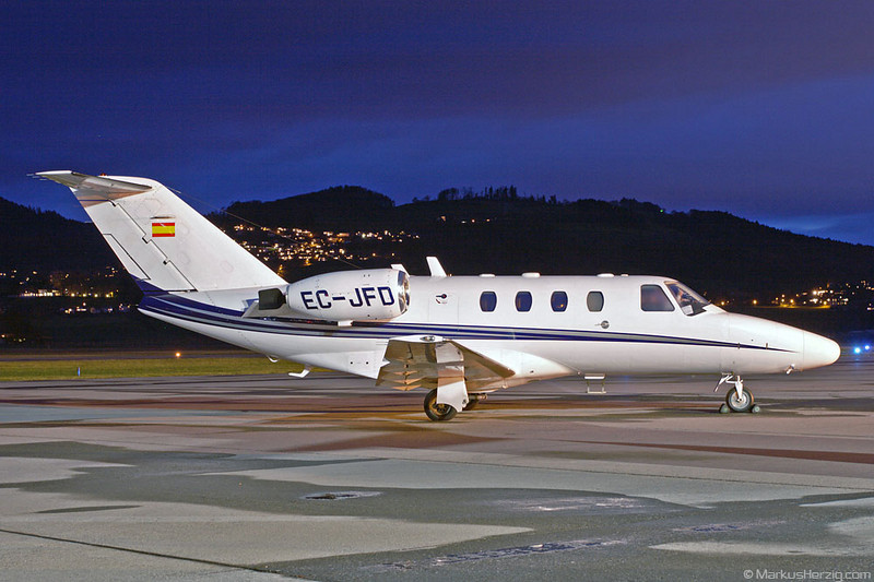 EC-JFD Cessna 525 Executive Airlines @ Bern Switzerland 7Jan07