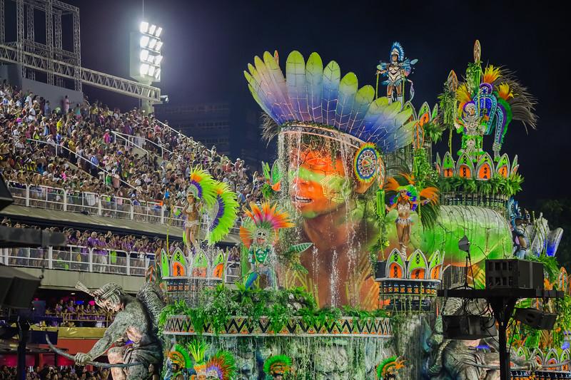 Carnaval Parade of Champions in Rio de Janeiro