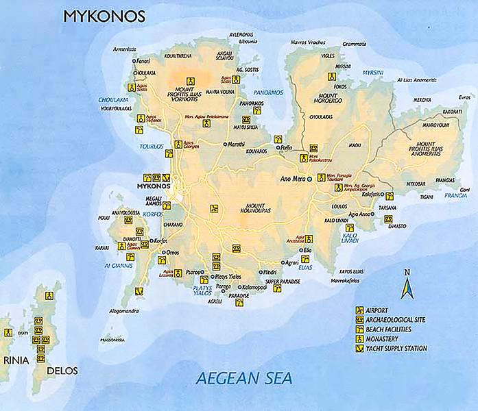 Mykonos and Delos Islands