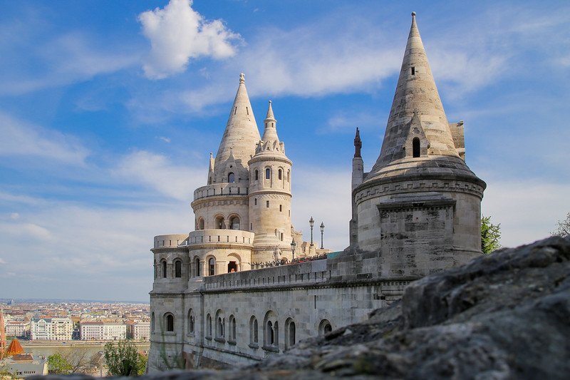 Fishermens Bastion from the side