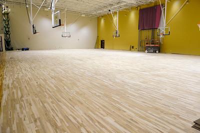 JRIS Volleyball Floor Install