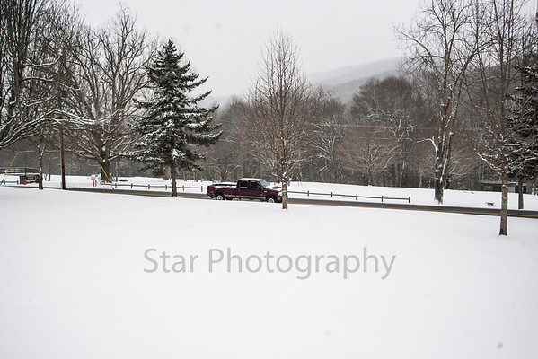 Snow In Roan Mountain 03-06-13