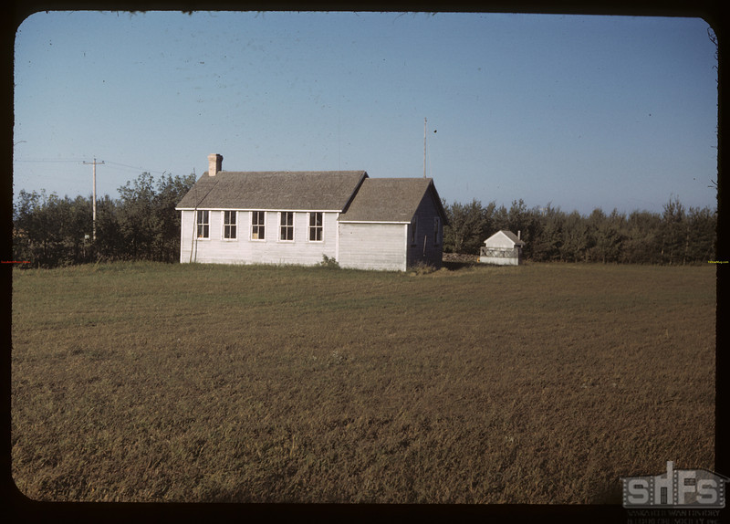 Scotland School - 24 miles east of Yorkton.  Yorkton.  09/01/1949