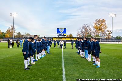 10-25-19 - Best of Michigan Men's Soccer Vs Wisconsin (Senior Night)