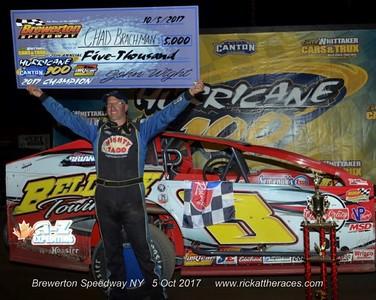 Brewerton Speedway - Hurricane 100 - 10/5/17 - Rick Young