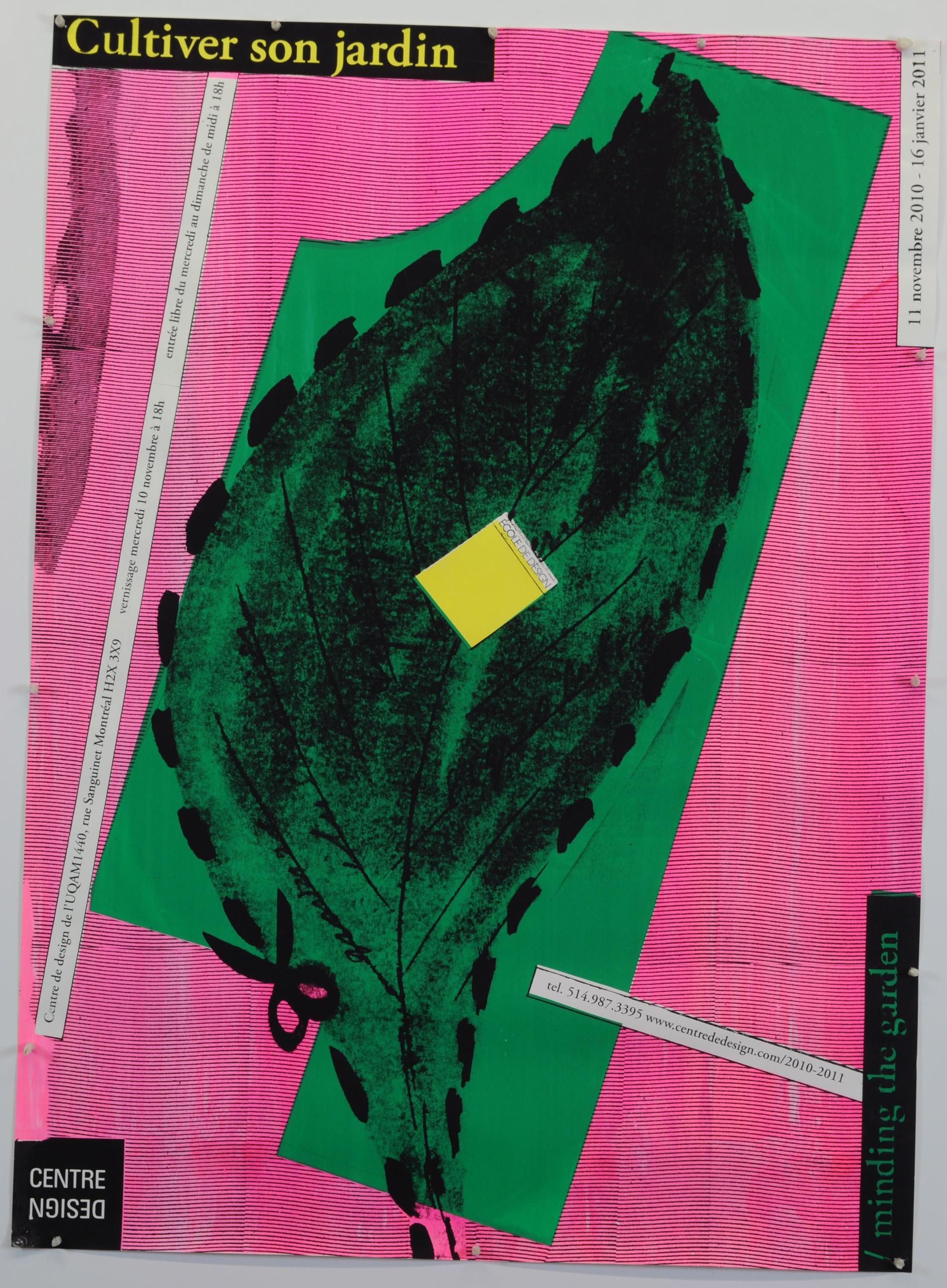 2010 - Exposition - Cultiver son jardin Minding the garden ©Alfred Halassa